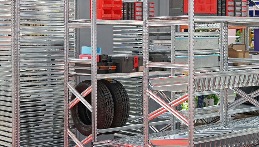 Modular Steel Shelving Systems